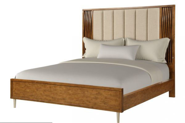Picture of BAMBOO WAVE KING PANEL BED