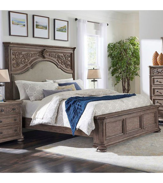 Picture of CARDOSO KING PANEL BED