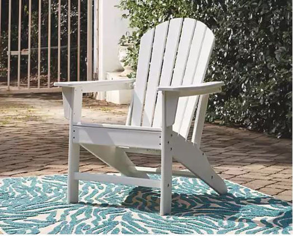 Picture of SUNDOWN TREASURE ADIRONDACK CHAIR WHITE