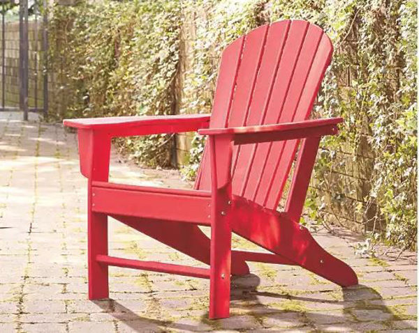 Picture of SUNDOWN TREASURE ADIRONDACK CHAIR RED