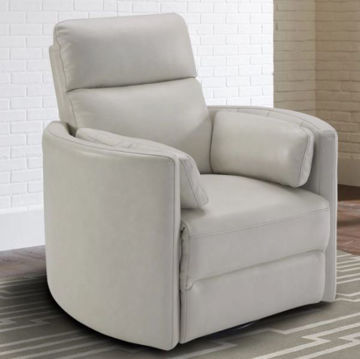 Picture of FLORENCE POWER SWIVEL RECLINER IVORY