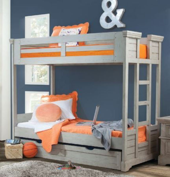 Picture of STONEBROOK TWIN BUNK BED WITH TRUNDLE