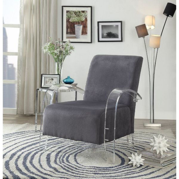 Picture of MALYSSA  ACCENT CHAIR CHARCOAL
