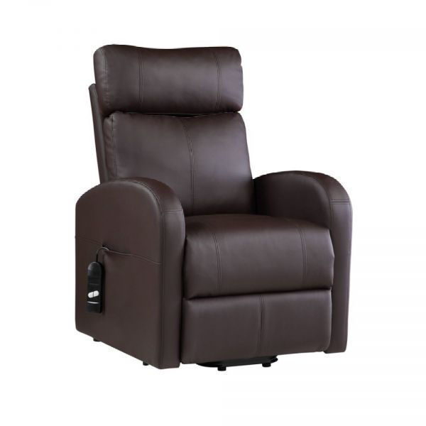 Picture of RICARDO POWER LIFT RECLINER BROWN