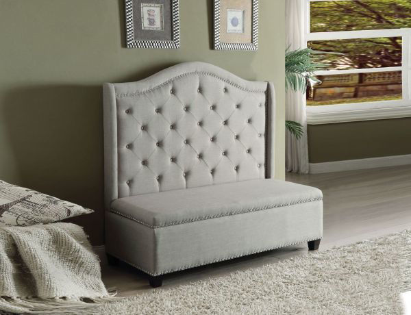 Picture of FAIRLY SETTEE WITH STORAGE