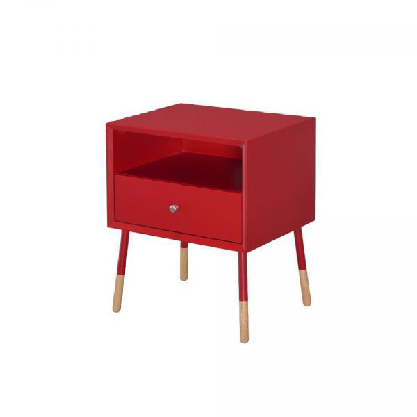 Picture of SONRIA II SIDE TABLE RED
