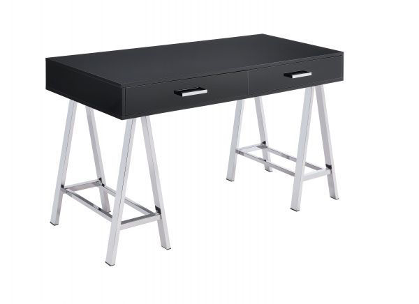 Picture of BLACK SAWHORSE WRITING DESK