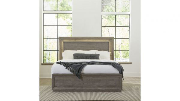 Picture of HORIZONS KING PANEL BED