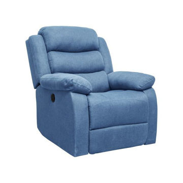 Picture of POWER RECLINER WITH USB BLUE