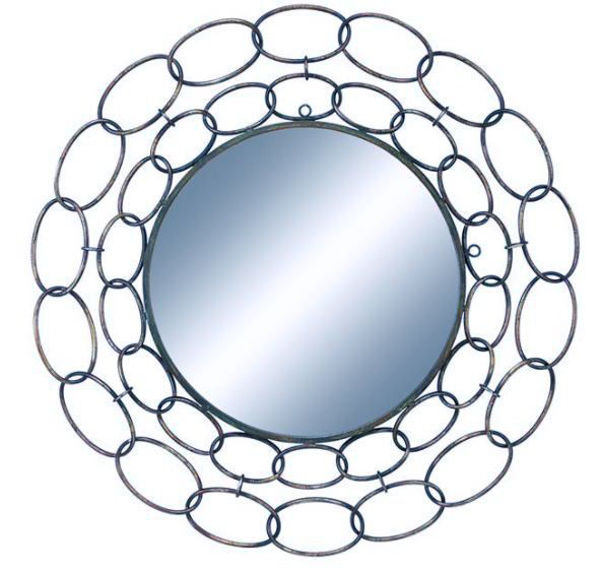 Picture of METAL WALL MIRROR