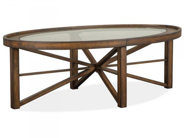 Picture of KIRKPATRICK OVAL COCKTAIL TABLE