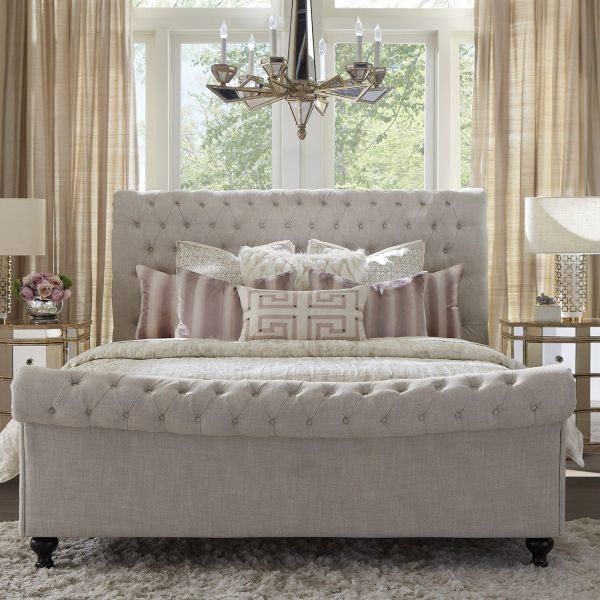 Picture of JACKIE QUEEN TUFTED BED