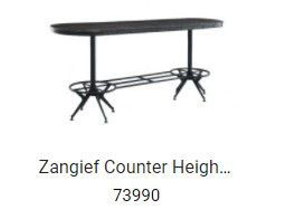 Picture of Zangief Counter Height Bar Table