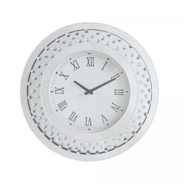 Picture of Lantana Mirrored Crystal Wall Clock